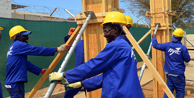 Learn construction skills at KAYEC for an exciting new career!