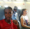Selfie on the plane to Victoria Falls